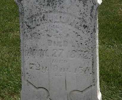LOWRY, JOHN - Erie County, Ohio   JOHN LOWRY - Ohio Gravestone Photos