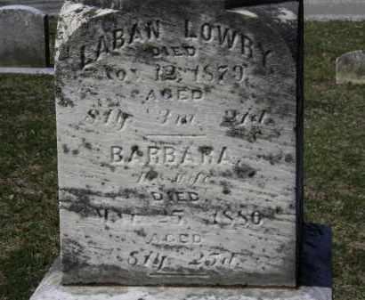 LOWRY, BARBARA - Erie County, Ohio | BARBARA LOWRY - Ohio Gravestone Photos