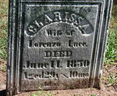 LUCE, CLARISSA - Erie County, Ohio | CLARISSA LUCE - Ohio Gravestone Photos