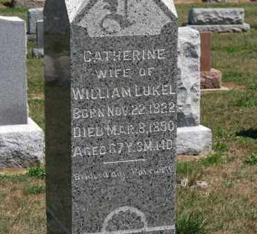 LUKEL, CATHERINE - Erie County, Ohio | CATHERINE LUKEL - Ohio Gravestone Photos
