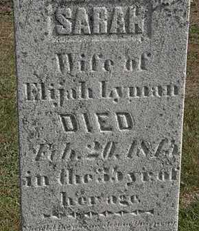 LYMAN, ELIJAH - Erie County, Ohio | ELIJAH LYMAN - Ohio Gravestone Photos