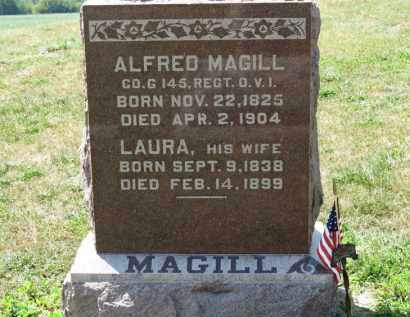 MAGILL, LAURA - Erie County, Ohio | LAURA MAGILL - Ohio Gravestone Photos