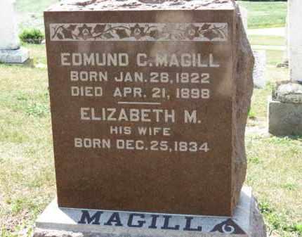 MAGILL, EDMUND C - Erie County, Ohio | EDMUND C MAGILL - Ohio Gravestone Photos