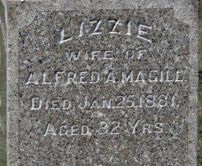 MAGILL, LIZZIE - Erie County, Ohio | LIZZIE MAGILL - Ohio Gravestone Photos