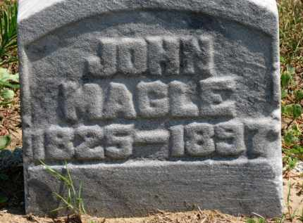 MAGLE, JOHN - Erie County, Ohio | JOHN MAGLE - Ohio Gravestone Photos