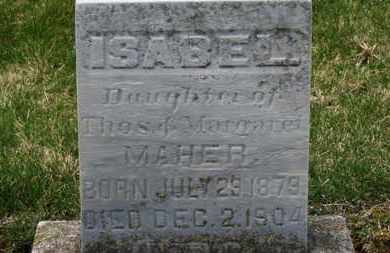 MAHER, THOS. - Erie County, Ohio | THOS. MAHER - Ohio Gravestone Photos