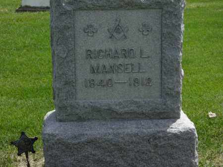 MANSELL, RICHARD L. - Erie County, Ohio | RICHARD L. MANSELL - Ohio Gravestone Photos