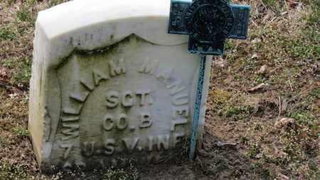 MANUEL, WILLIAM - Erie County, Ohio   WILLIAM MANUEL - Ohio Gravestone Photos