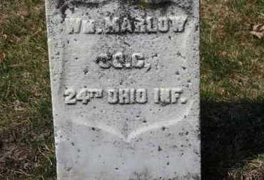 MARLOW, WM. - Erie County, Ohio | WM. MARLOW - Ohio Gravestone Photos