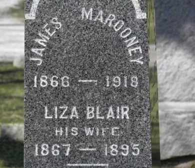 BLAIR MAROONEY, LIZA - Erie County, Ohio | LIZA BLAIR MAROONEY - Ohio Gravestone Photos