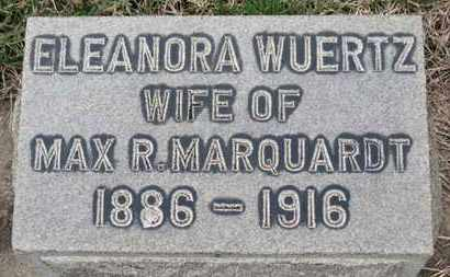 WUERTZ MARQUARDT, ELEANORA - Erie County, Ohio | ELEANORA WUERTZ MARQUARDT - Ohio Gravestone Photos