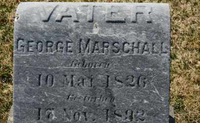 MARSCHALL, GEORGE - Erie County, Ohio | GEORGE MARSCHALL - Ohio Gravestone Photos