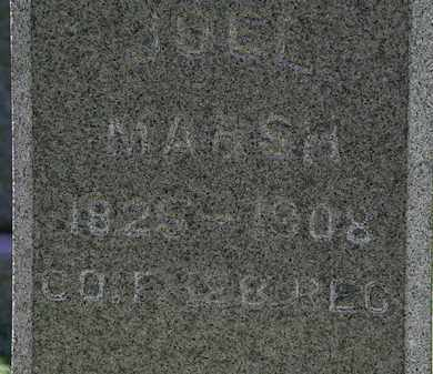 MARSH, JOEL - Erie County, Ohio | JOEL MARSH - Ohio Gravestone Photos
