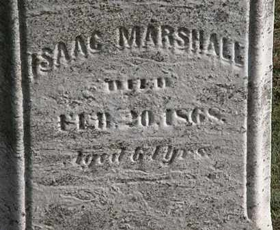 MARSHALL, ASAAC - Erie County, Ohio | ASAAC MARSHALL - Ohio Gravestone Photos