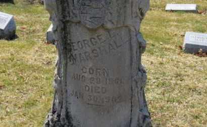 MARSHALL, GEORGE L. - Erie County, Ohio | GEORGE L. MARSHALL - Ohio Gravestone Photos