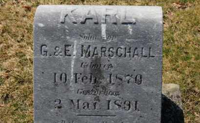 MARSCHALL, KARL - Erie County, Ohio | KARL MARSCHALL - Ohio Gravestone Photos