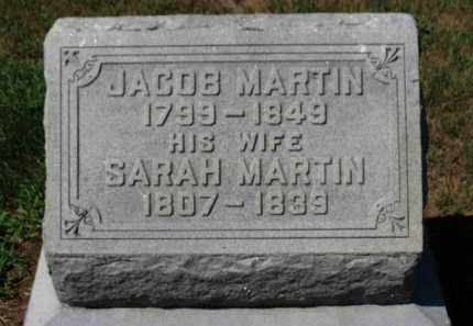 MARTIN, JACOB - Erie County, Ohio | JACOB MARTIN - Ohio Gravestone Photos