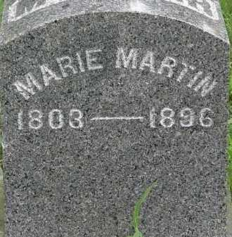 MARTIN, MARIE - Erie County, Ohio | MARIE MARTIN - Ohio Gravestone Photos