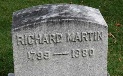 MARTIN, RICHARD - Erie County, Ohio | RICHARD MARTIN - Ohio Gravestone Photos