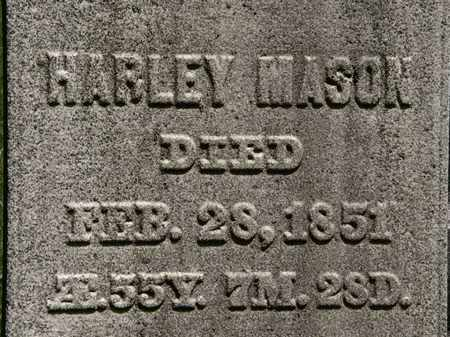 MASON, HARLEY - Erie County, Ohio | HARLEY MASON - Ohio Gravestone Photos