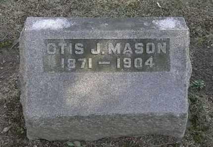 MASON, OTIS J. - Erie County, Ohio | OTIS J. MASON - Ohio Gravestone Photos