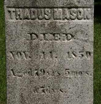MASON, THADUS - Erie County, Ohio | THADUS MASON - Ohio Gravestone Photos