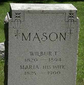 MASON, MARIA - Erie County, Ohio | MARIA MASON - Ohio Gravestone Photos