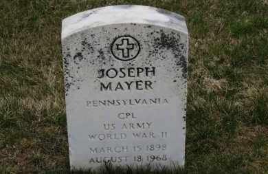 MAYER, JOESEPH - Erie County, Ohio | JOESEPH MAYER - Ohio Gravestone Photos