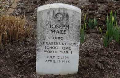 MAZE, JOSEPH - Erie County, Ohio | JOSEPH MAZE - Ohio Gravestone Photos