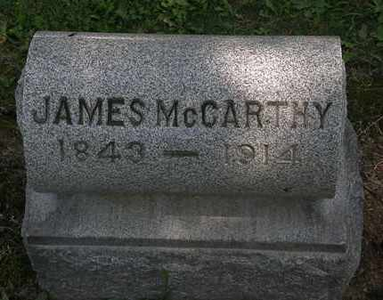 MCCARTHY, JAMES - Erie County, Ohio | JAMES MCCARTHY - Ohio Gravestone Photos