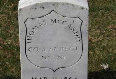MCCARTHY, THOMAS - Erie County, Ohio | THOMAS MCCARTHY - Ohio Gravestone Photos