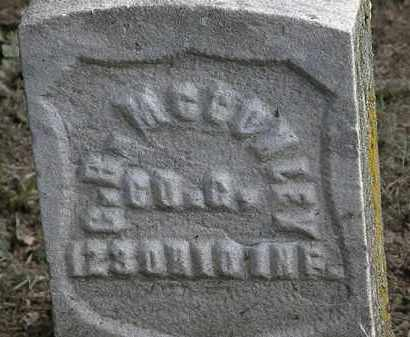 MCCONLEY, G. R. - Erie County, Ohio | G. R. MCCONLEY - Ohio Gravestone Photos