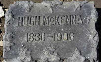 MCKENNA, HUGH - Erie County, Ohio | HUGH MCKENNA - Ohio Gravestone Photos