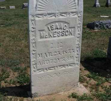 MCKESSON, ISAAC - Erie County, Ohio | ISAAC MCKESSON - Ohio Gravestone Photos