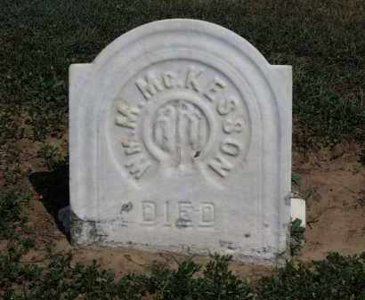 MCKESSON, WN. M. - Erie County, Ohio | WN. M. MCKESSON - Ohio Gravestone Photos