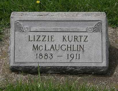 KURTZ MCLAUGHLIN, LIZZIE - Erie County, Ohio | LIZZIE KURTZ MCLAUGHLIN - Ohio Gravestone Photos