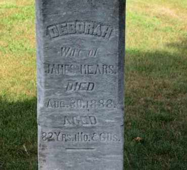MEARS, DEBORAH - Erie County, Ohio | DEBORAH MEARS - Ohio Gravestone Photos