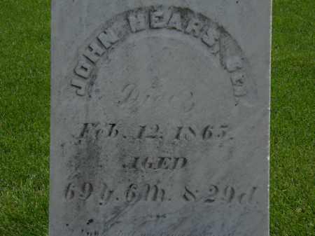MEARS, SEN., JOHN - Erie County, Ohio | JOHN MEARS, SEN. - Ohio Gravestone Photos