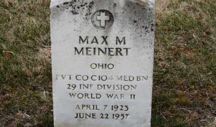 MEINERT, MAX M. - Erie County, Ohio | MAX M. MEINERT - Ohio Gravestone Photos