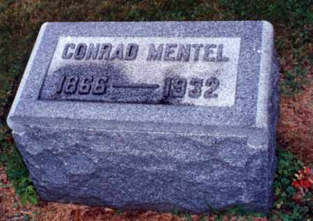MEMTEL, CONRAD - Erie County, Ohio | CONRAD MEMTEL - Ohio Gravestone Photos