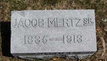 MERTZ, JACOB - Erie County, Ohio | JACOB MERTZ - Ohio Gravestone Photos