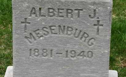 MESENBURG, ALBERT - Erie County, Ohio | ALBERT MESENBURG - Ohio Gravestone Photos