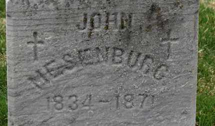 MESENBURG, JOHN - Erie County, Ohio | JOHN MESENBURG - Ohio Gravestone Photos