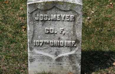 MEYER, JOS. - Erie County, Ohio | JOS. MEYER - Ohio Gravestone Photos