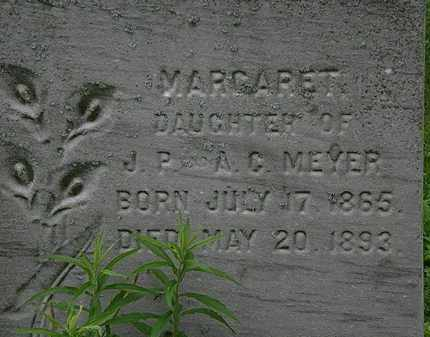 MEYER, MARGARET - Erie County, Ohio | MARGARET MEYER - Ohio Gravestone Photos
