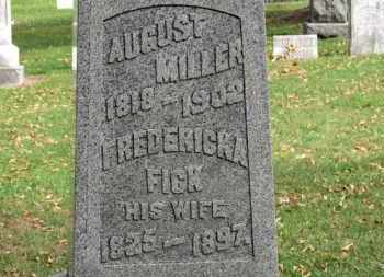 MILLER, FREDERICKA - Erie County, Ohio | FREDERICKA MILLER - Ohio Gravestone Photos