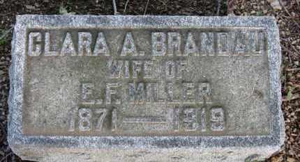 MILLER, CLARA A. - Erie County, Ohio | CLARA A. MILLER - Ohio Gravestone Photos