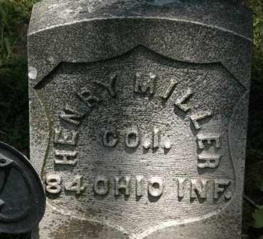 MILLER, HENRY - Erie County, Ohio | HENRY MILLER - Ohio Gravestone Photos