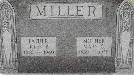 MILLER, MARY C. - Erie County, Ohio | MARY C. MILLER - Ohio Gravestone Photos