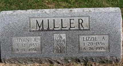 MILLER, JOHN A. - Erie County, Ohio | JOHN A. MILLER - Ohio Gravestone Photos